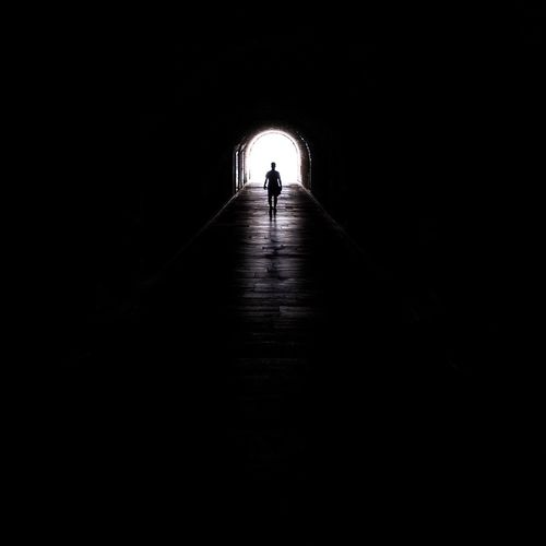 the tunnel 👤 Light At The End Of The Tunnel Walking One Person Architecture EyeEm Selects Silhouette People Built Structure The Architect - 2017 EyeEm Awards Minimalist Architecture Tourism Eyemphotography Minimalism Tunnel Archaeology Athens, Greece Athens Architecture History EyeEm Selects Breathing Space
