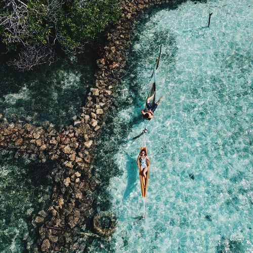 Travel, luxe 👌 Beautiful Beauty In Nature Secret Places Love Traveling Tranquil Scene Travel High Angle View Water Day Nature Sunlight Real People Outdoors Unrecognizable Person Lifestyles Beach Swimming Pool Sport
