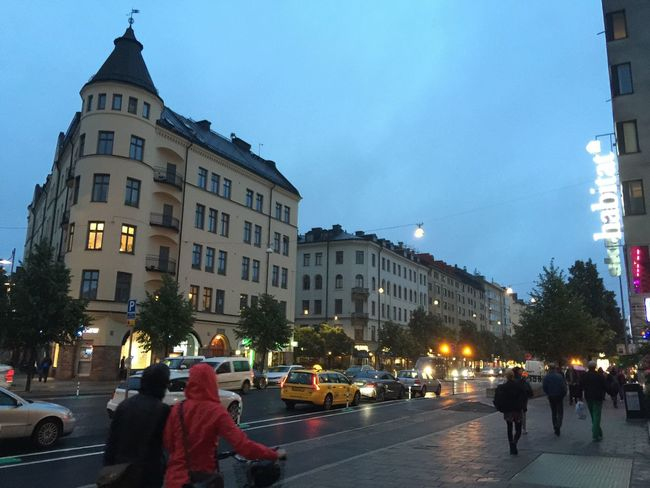 Sweden Stockholm Travel August