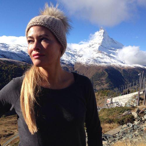 Zermatt Mountain Leisure Activity Beauty In Nature Long Hair Sabina Kuebler First Eyeem Photo