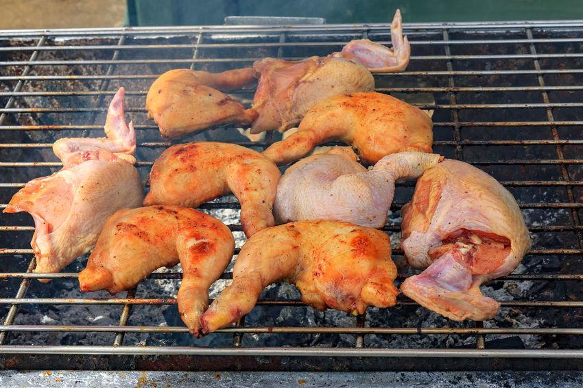 Grilled Chicken Grilled Chicken .Thailand Food Style Grilled Chicken And Fries Grilled Chicken Salad Thai Food
