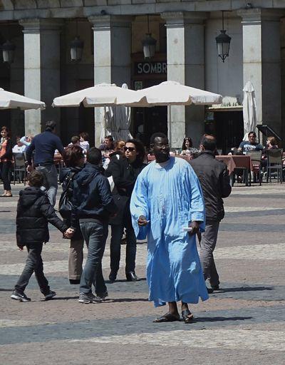 A Prince Street Fashion Fashion Clothes Walking Walking On The Street Walk Blue Tunic Tunic City Square Man Street City Real People