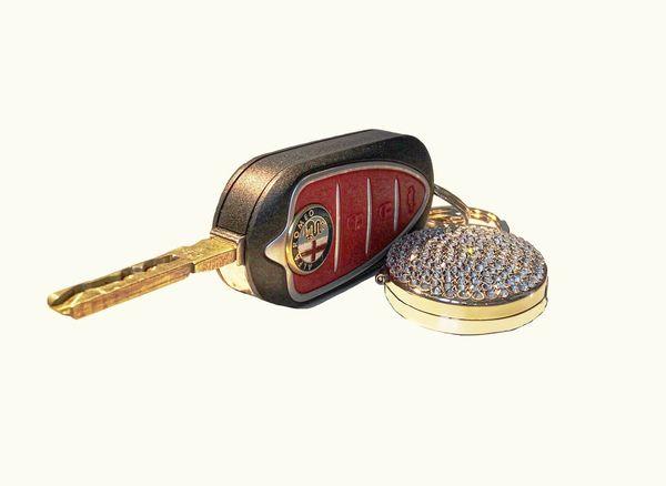 Alfa Romeo Car Key & Key Ring...x Car Key Key Fob Alfaromeo Alfa Romeo Keyring Keychain Key Ring Key Chain First Eyeem Photo