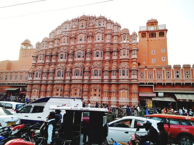 Mobility In Mega Cities EyeEmNewHere Historical Pink Pink City Jaipur Pink City Built Structure