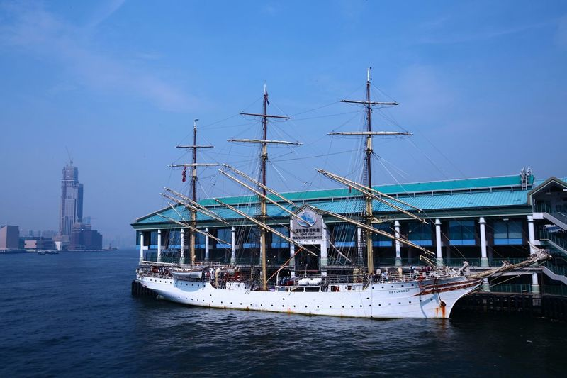 Sorlandet (Direct-out) Hanging Out Taking Photos Check This Out Hello World Relaxing Enjoying Life Things I Like The Essence Of Summer People Watching Sailing Vessel Sailing Ships Central Pier No. 8 Central Hong Kong