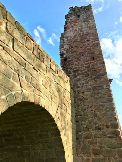 Architecture Low Angle View Built Structure Sky History The Past Cloud - Sky