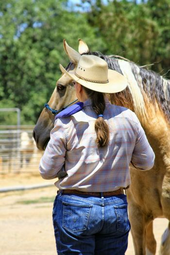 Ranch Life Horseback Riding Enjoying Life My Hobby 2017 Eyeem Awards Random Acts Of Photography Animal Themes Domestic Animals Mammal One Animal Summertime Close-up Love