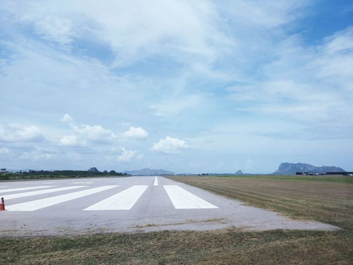 In To The Sky Runway Militarybase