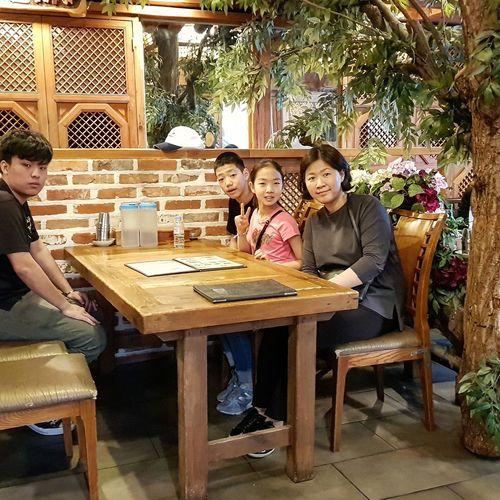My Son with The Kims Insadong Tripwithson2017 Tripwithsonmay2017 Seoul South Korea