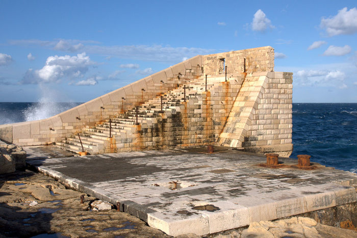 Malta Malta Architecture Malta In My Eyes Stairs Ancient Civilization Architecture Building Exterior Built Structure Cloud - Sky Day History Horizon Over Water Maltaphotography Malta♥ Nature No People Ocean Old Ruin Outdoors Sea Sky Stairway To Nowhere Travel Destinations Water