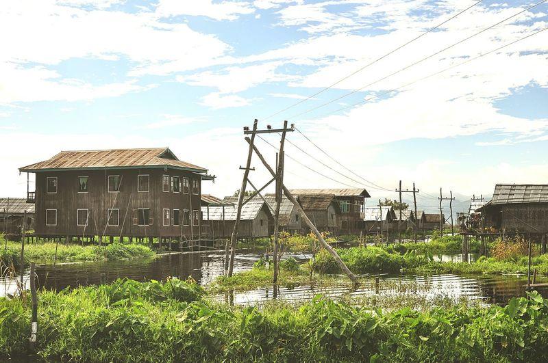 Floating Village. November 2013. Lake Traveling Travel Landscape Backpacking Myanmar Inle Lake Peace And Quiet Vscocam Burma
