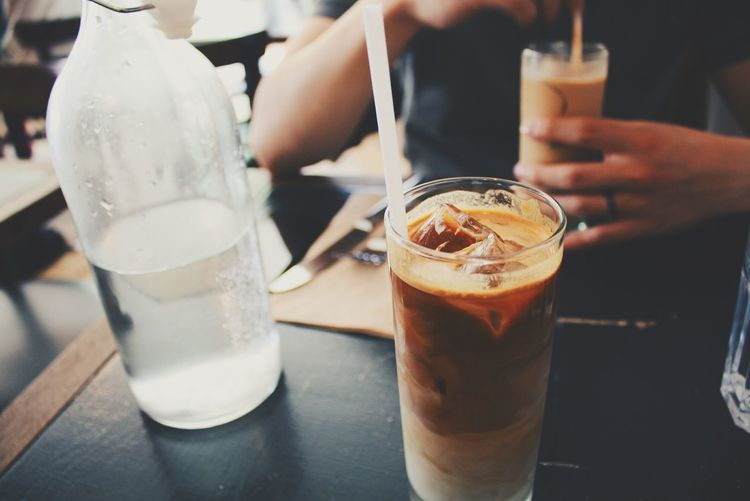 iced latte dates with hubby. best time. Enjoying Life Espresso On A Date Coffee Visual Trends SS16 - Lifestyle X Travel