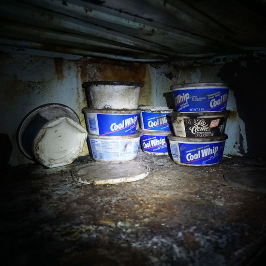 whip it Cool Whip Gross Disgusting  Rotten Urban Exploration Abandoned Abandoned Places Day Close-up No People