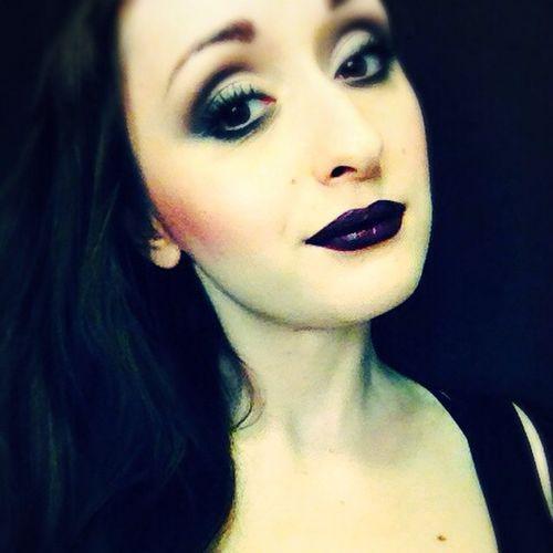 Mac Macgirl Macpeople Maccosmetic Makijaz Makeup Lips Dark Gosia Poland TBT  Instamakeup Instagood Eyes Polishgirl Face Macarkadia Myartistcommunity