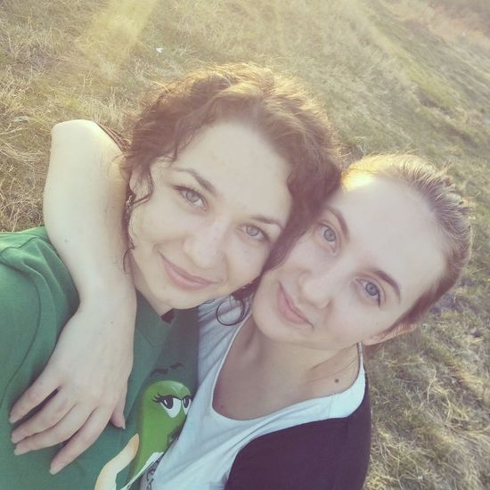 With my good friend)