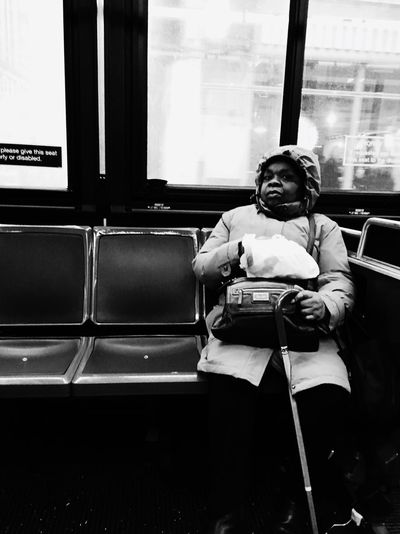 Capture The Moment NYC Photography Streetphotography Busrides Portrait Of A Woman Unknownstory NYC Street