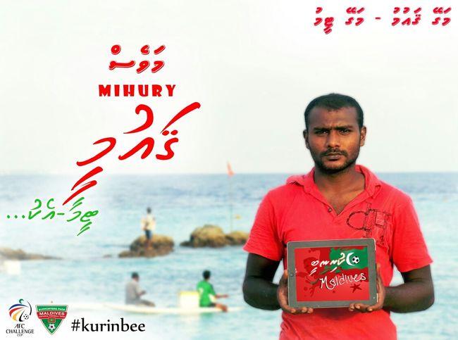 Maldives Football Season SUPPORT Kurinbee