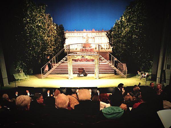 Prinzregententheater in. Munich Zauberflöte Bavarian Style - nice Stage Funny Opéra Evening