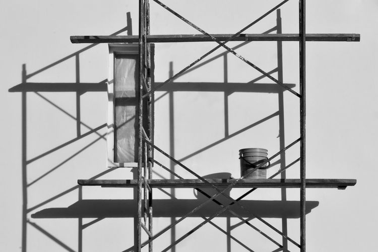 3 PM Black Bnw_collection Bogotá Colombia Commercial Dock Crane - Construction Machinery Day Development EyeEm Gallery Eyeemcollection Industry No People Outdoors Progress