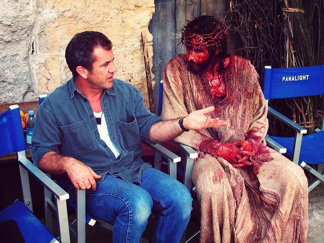 who would have known that this was just acting? The Passion Of The Christ. Epic Mel Gibson Genius