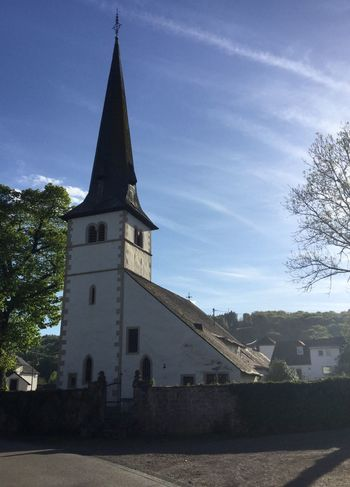 Architecture Built Structure Building Exterior Religion Sky No People Place Of Worship Tree Day Spirituality Low Angle View Outdoors Church Germany