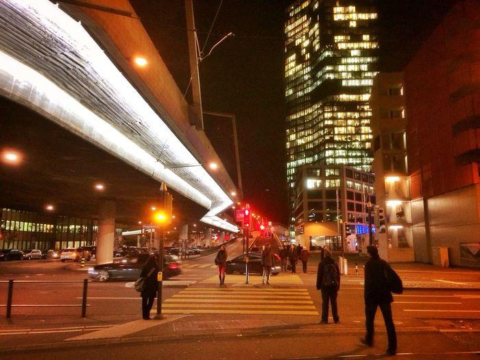 Feierabend Nightlights Commuting Loud City Song