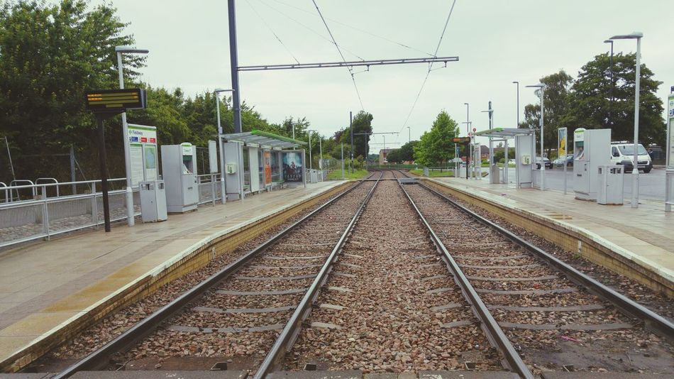 Tram Stop Travel Photography No People Where Is Everybody? Empty Streets Empty Places Londonlife NewAddington,London.