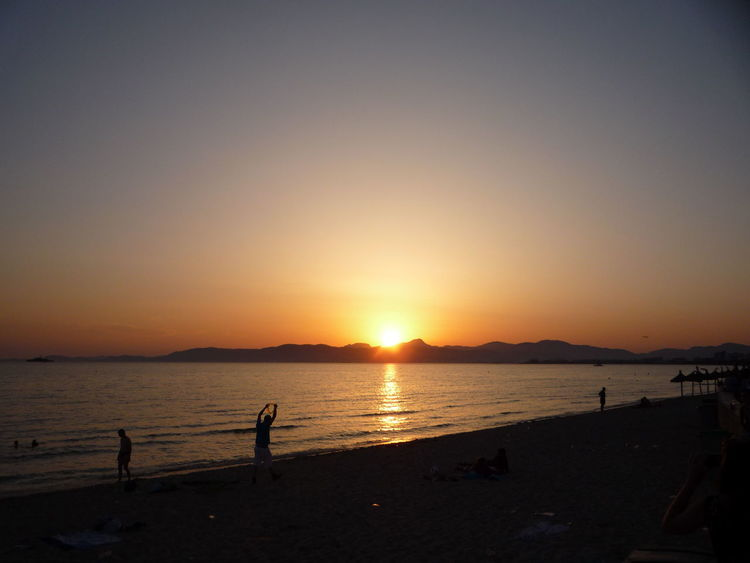 #beautiful #Holidays #mallorca #Meer #Nature  #oceanview #party #sonnenuntergang #sunset Beach