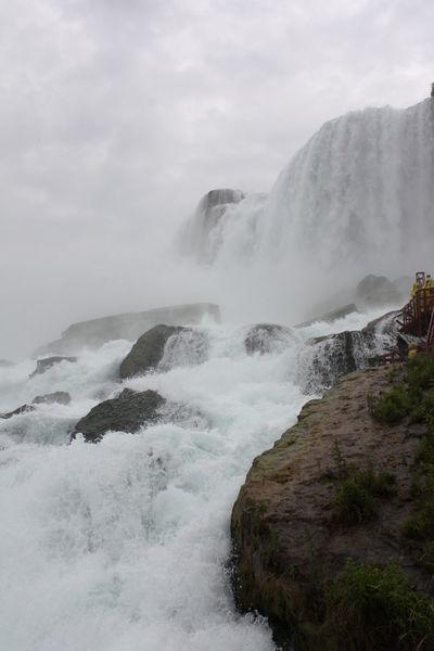 Mist Niagra Falls No People Rock Spray USA Water Waterdrops Waterfall Wet