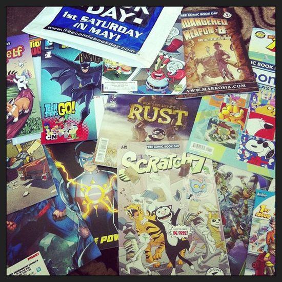 Free Comic Book Day haul! Comicbooks Nerdgasm Anotherdimension