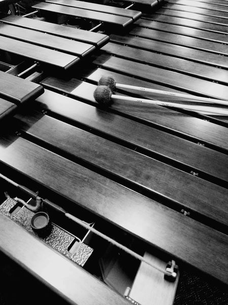 So this is one of the instruments I've been playing today - a Marimba . These bass notes sound wonderful! We're doing some recording later this week, so we've been rehearsing intensively over the last few weeks. Things I Like Making Music Percussion Percussion Instrument Black And White Bnw Music Is My Life Musical Instrument Showcase: April 2016
