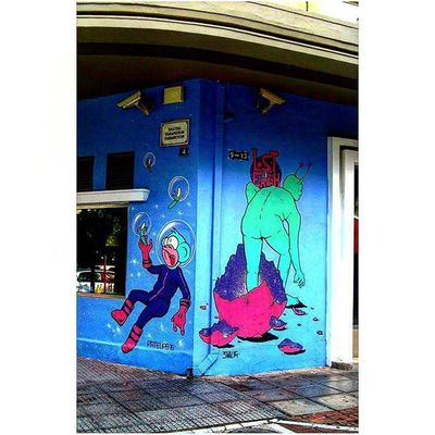 Thessaloniki Θεσσαλονίκη Solun Salonika Greece VisitGreece Instagreece Greecestagram White City Whitecity Graffiti Graffitiart Wallart Streetart Streetofthessaloniki Instagraffiti Instagraffitiart