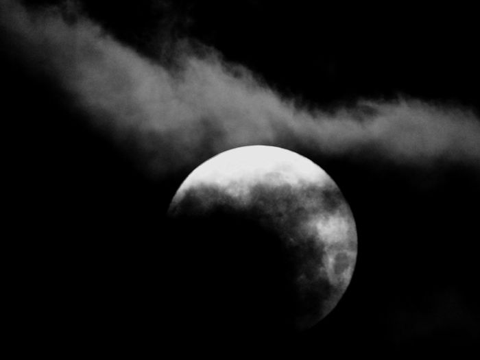 See the moon, feel the moon, be the moon Sleepless Nights Insomnia Night Nightphotography Clouds And Sky Clouds Monochrome Blackandwhite Black And White Eyeemphotography Photography EyeEm Nature Lover Eye4photography  Moon Night Astronomy Space Beauty In Nature Moon Surface Nature Sky Half Moon Space Exploration Scenics