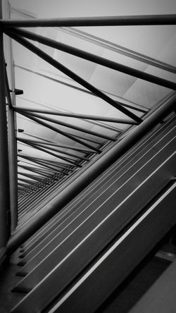 Geometry Geometric Abstraction Indoors  Blackandwhite Black And White Built Structure Building Travel Destinations Travel Photography Day No People Transportation Outdoors Close-up Sky