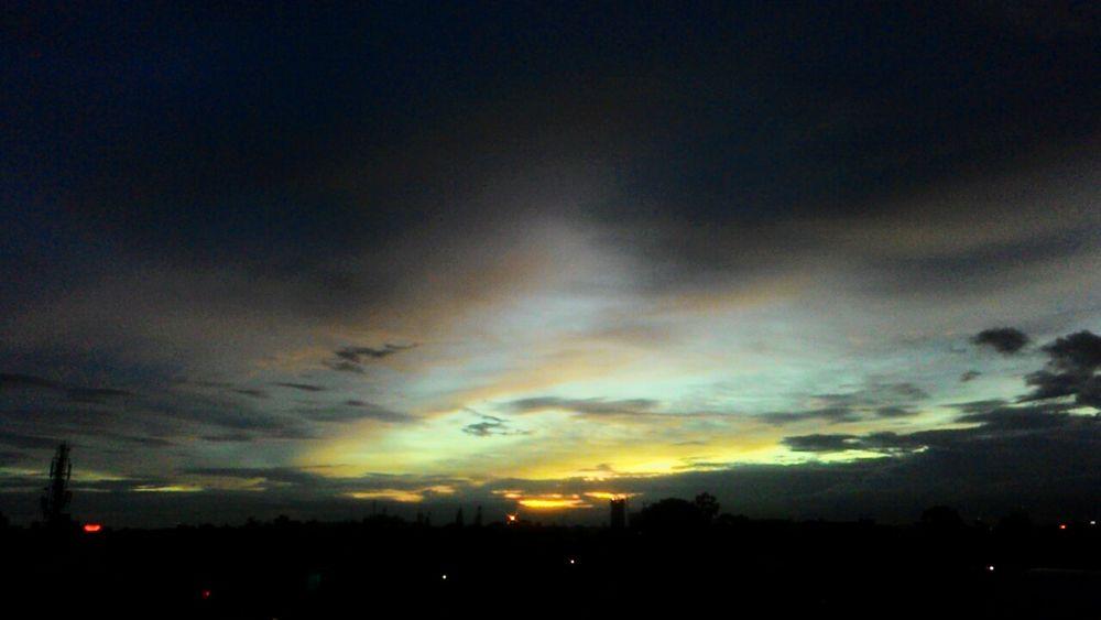 Sunset ❤ Bangalore Colorsplash Sky City Outdoors Amazing View