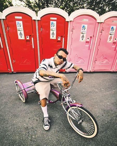 lowrididing Lowrider LowriderBike Trikebike Trike Lowridertrike Neighborhood Raveerhodestra LowriderBicycle Lowridermagazine Full Length Sport Stunt Exercising Bicycle Sports Training Child Hip Hop Cycling
