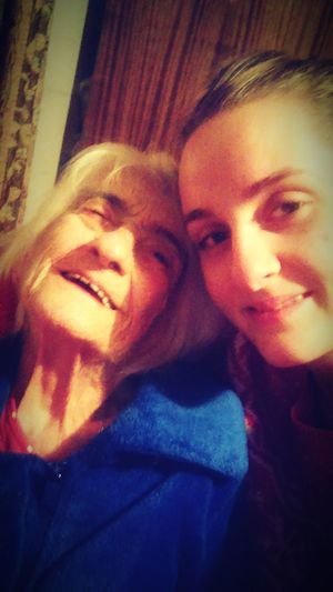 Christmastime Grandmother