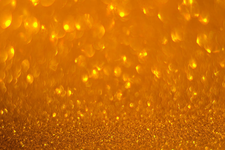 Backgrounds Abstract Textured  Bokeh Sparkle Gold Colored Shiny Gold Yellow Glitter Textured Effect Abstract Backgrounds Bright Pattern Copy Space