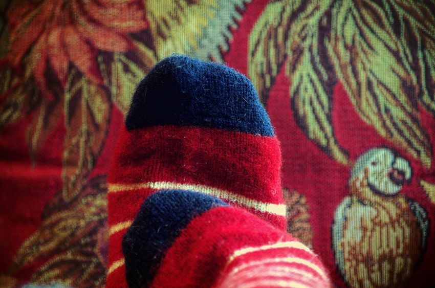 TK Maxx Socksie Festive Spirit Season  Stay Cozy Wild And Wooly Winter Days Home Body Tapestries Virgin Wool Curling Up Relaxation Red Tapestry Beauty And Elegance