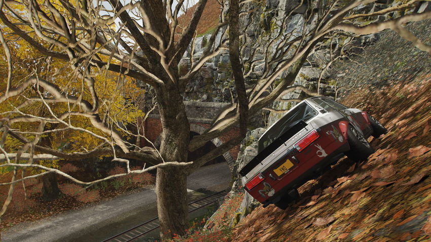 FH4 Forza Horizon 4 Forza Horizon Transportation Tree Mode Of Transportation Plant Nature Land Vehicle Motor Vehicle No People Day Land Road Landscape Tree Trunk Bare Tree Car Trunk Branch Travel Outdoors Forest