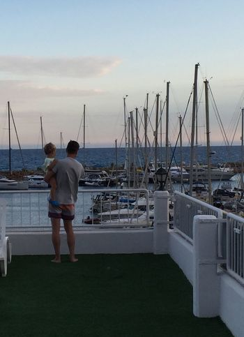 Long Goodbye Two People Togetherness Rear View Sea Love Real People Men Water Nautical Vessel Leisure Activity Full Length Standing Lifestyles Bonding Sky Vacations Horizon Over Water Nature Day Breathing Space