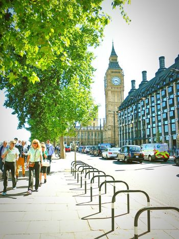 Taken by me on my Nikon S3200 back in July 2015. Summer Housesofparliament Bigben Westminster London Uk Europe 2015