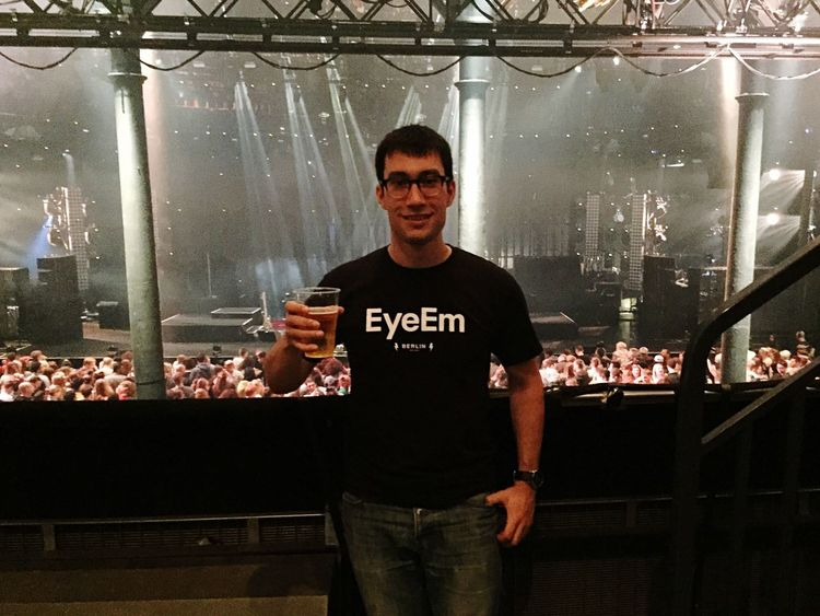 EyeEm X Apple Music Festival 2015 Apple Music Festival Thats Me  with a cider ;)