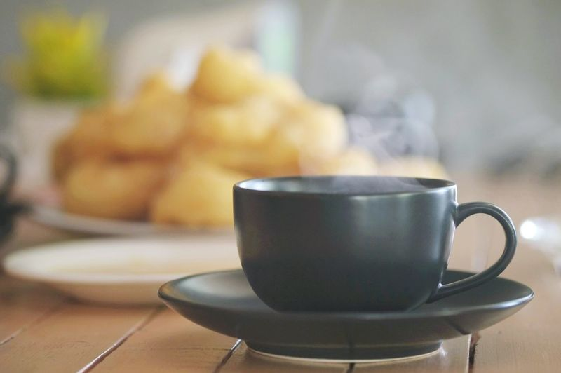 Hot Coffee in