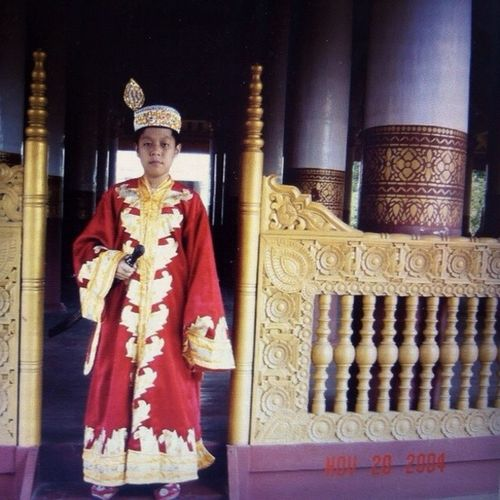 Me Mandalay MandalayRoyalPalace Costume Myanmar