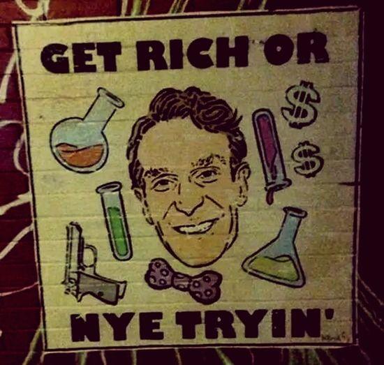 Bill Nye the Science Guy! Billnyethescienceguy Hello Peoplee ❤❤ Enjoying Life Tulsa,oklahoma Science NYE2015 Thuggin Thug Life Cheese! Watching Bill Nye