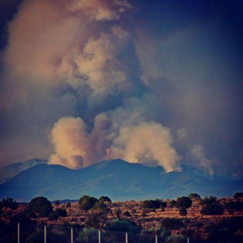 Fire on the Mountain, Jemez Mountains, summer 2012 Fire Forest Fire Jemez