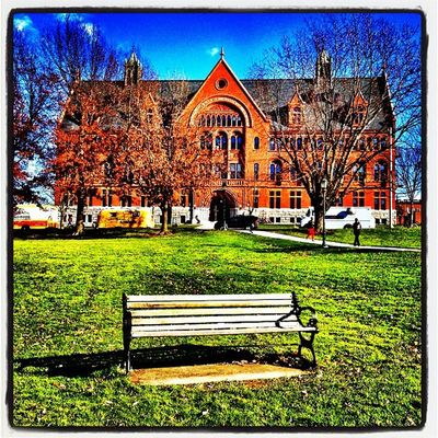 A Good Seat, But Wrong Direction. #uvm #btv #vt University Uvm Iphoneonly Vermont_scenery Photooftheday Insta_america Iphonesia 802 Picoftheday Instagramvt Vermont Igharjit Igersvt All_shots Vermontbyvermonters Instamood Williamshall Bestoftheday Igvermont Igvt Instagood Vt_landscape Webstagram Instadaily Universityofvermont Architecture Vt Vermont_landmark Btv Captureeuphoria