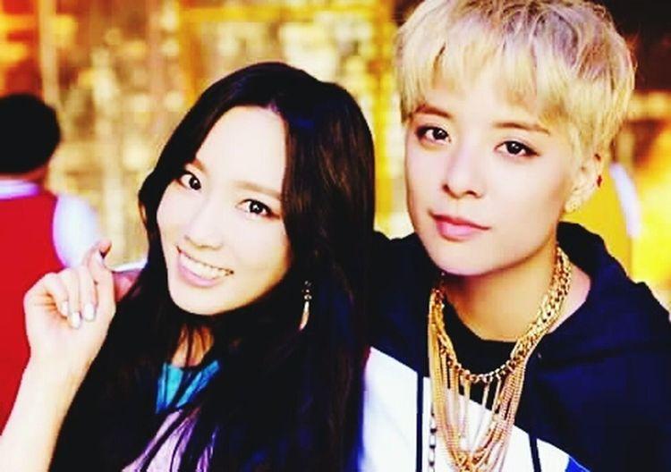 I Love This Couple Taeyeon Amber Liu TaeBer