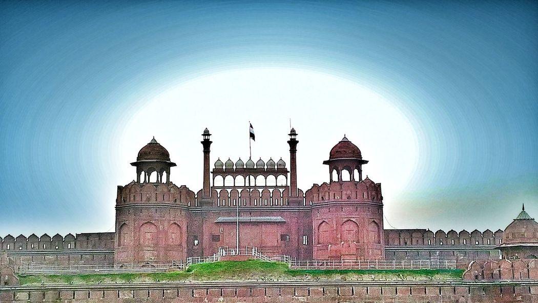 Red Forte Area, New Delhi , India Redfort Delhi Old Delhi Monument Architecture Built Structure Building Exterior Heritage Heritagebuilding Mughal Mughalarchitecture MughalEra Shahjahan Red Fade Outdoors Ancient Incredibleindia ChandiChowk